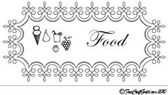 food label finecraftguild