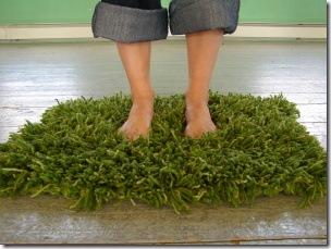 green grass mat crochet knitting pattern