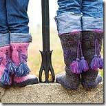 knitted boots pattern