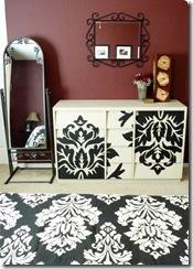 painted dresser diy twicelovelyblogspot