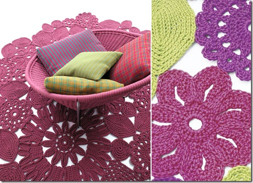 crochet area rugs