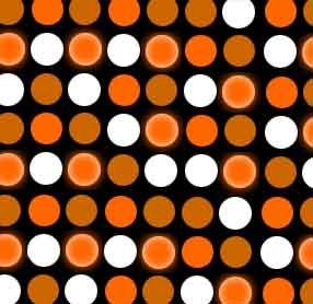 Free Halloween Polka Dot Background