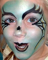Face Painting Designs Ideas &amp Examples - Toddler Witch Makeup Ideas