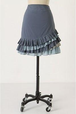 Free Pattern Ruffle Skirt (Anthropologie like)
