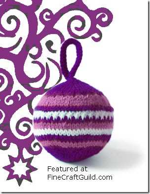 Christmas Tree Ornament Free Knitting Pattern