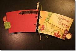 coffee cup scrapbook