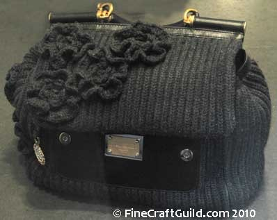 knitting bag fashion Rome italy