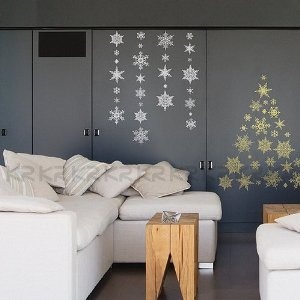 Easy Holiday Window Decorating Ideas … for 'Overlooked' Rooms