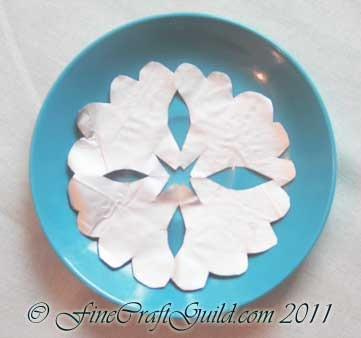 How to Make Splendid Silver Doilies