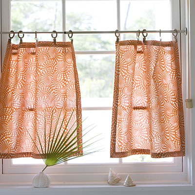 How to Make Cafe Curtains