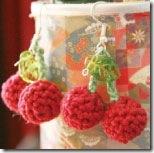 crochetcherryearrings