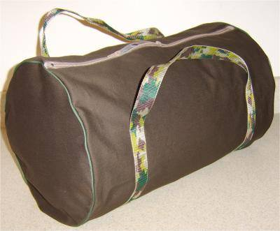 duffel bag free sewing pattern