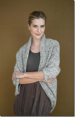 Chic Easy Shrug – Free Shrug Knitting Patterns