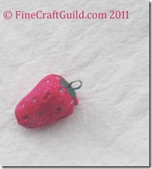 fruit shaped clay beads