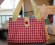 gingham bag pattern
