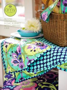 Amy Butler Picnic Blanket Pattern