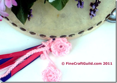 Darling Valentine Flowers (Free Crochet Pattern)