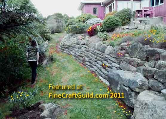 How to Build a Self-Retaining Garden Wall