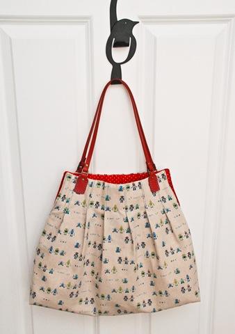 Pleated Handbag Pattern