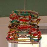 DIY Scrappy Lampshades