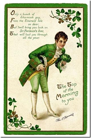st Patricks day lucky Card