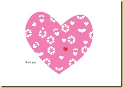 Free Valentine Card Template