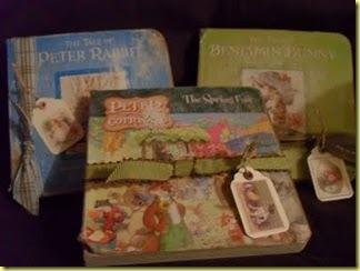 faux vintage children books