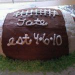 Baseball and Rugby Football Cake Recipes