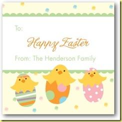 happy Easter tiny prints