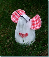 fabric toy mouse pattern