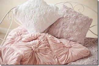 Pink smocked Quilt lazybones