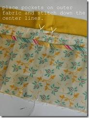 bag organizer sewing pattern