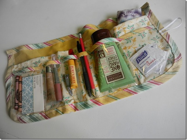 bag organizer sewing patterns