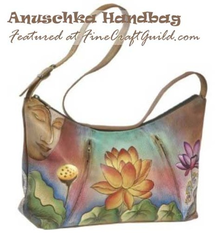 How to paint a leather bag :: anuschka designer handbag