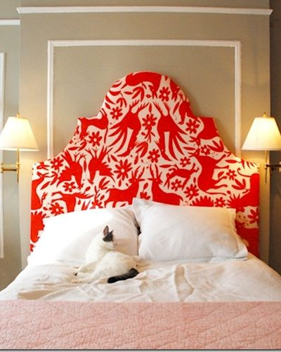 Bedroom Furniture :: DIY Upholstered Headboards