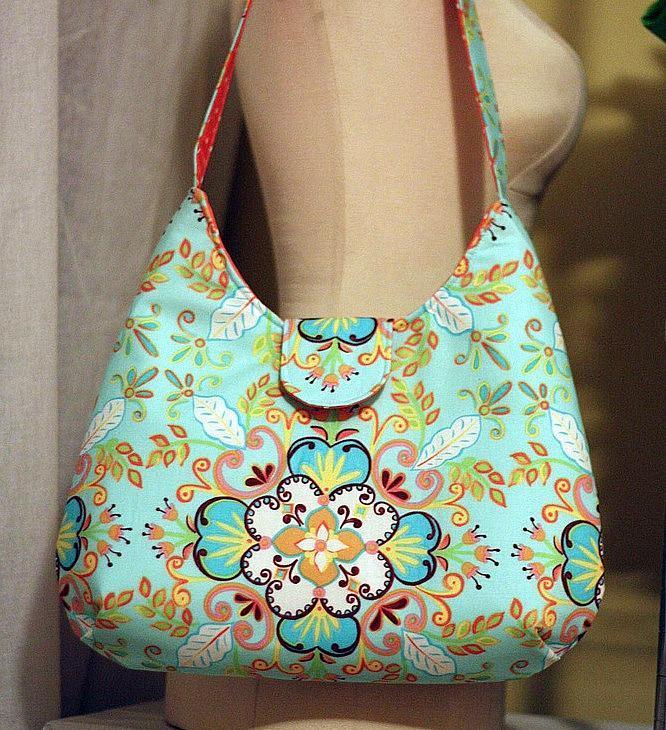 Phoebe free bag sewing pattern