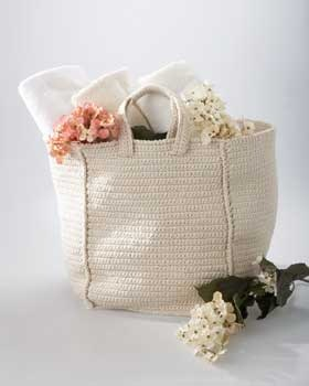 Shabby Chic Crochet Bag – Free Pattern
