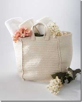 shabby chic bag crochet pattern