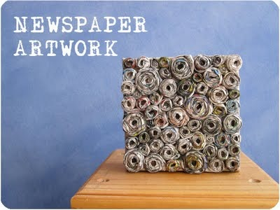 Newsprint Art