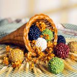 Thanksgiving Decorations: Abundance Seed Balls