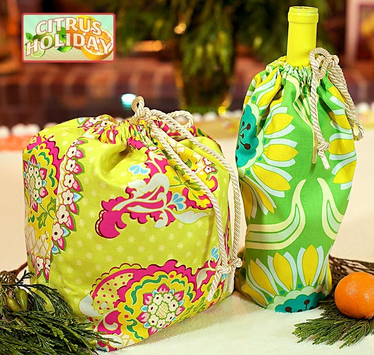 Make Your Own Drawstring Beach Bag