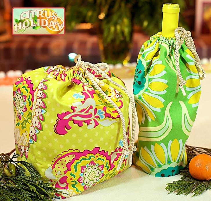 Beach drawstring bag pattern