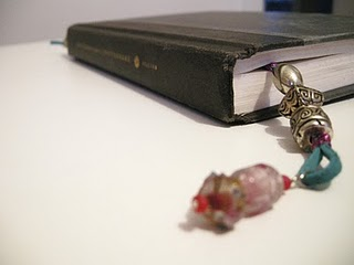 DIY Personalized Bookmarks w Beads & Jewels