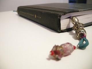 DIY Bookmarks, Personalized w Beads & Jewels
