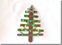 craftstick christmas tree