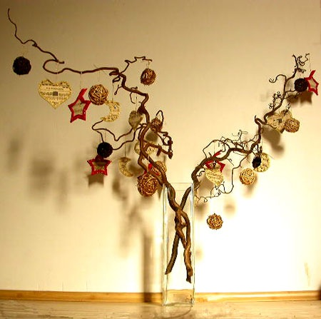 Curly Branches - Alternative Christmas Trees - FineCraftGuild.com