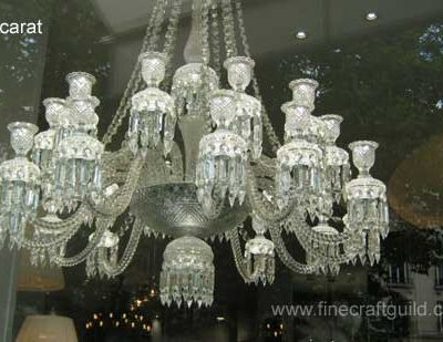 French Chandeliers from Baccarat