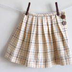 pleaded girl skirt free sewing pattern