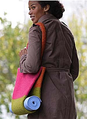 yoga bag crochet pattern