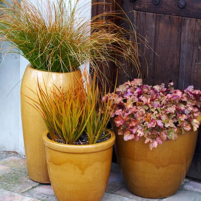 Containers Gardening :: Fall Landscaping Ideas :: FineCraftGuild.com